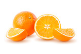 Orange isolated on white background. Full depth of field with clipping path. - 190058618