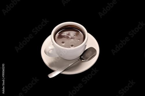 Fotobehang Chocolade hot chocolate mug