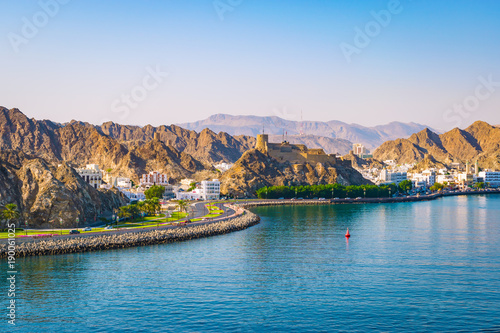 Waterfront of Muscat, Oman © napa74