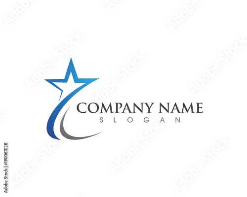 Star Logo Template - 190061028