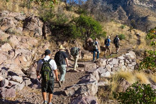 Foto op Canvas Arizona Mountain path