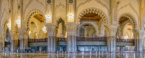 Moschee Hassan II Casablanca Innen Panorama