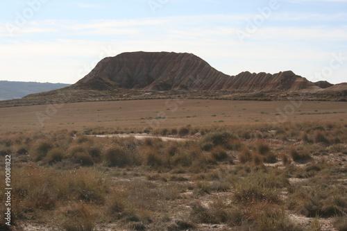 Keuken foto achterwand Cappuccino Bardenas Reales désert