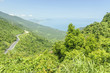 scenery of the mountains in the pass  of the clouds in Vietnam. - 190084656