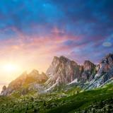 Dolomites alps. Italy.
