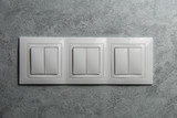 Group of white switches - 190093289
