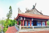 Exterior of Chihkan Tower or Fort Provintia in Tainan Province - 190119889