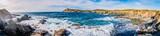 Panorama des les Iles du Gaou à Six-Fours-les-Plages, le Brusc