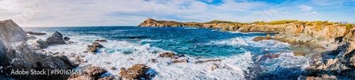 Panorama des les Iles du Gaou à Six-Fours-les-Plages, le Brusc - 190161668
