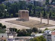 View From Above of Temple of Olympian Zeus- view from top of Acropolis - 190162697
