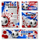 Vector football cup soccer team background posters - 190164228