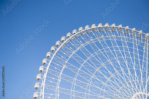 Tuinposter Amusementspark 観覧車