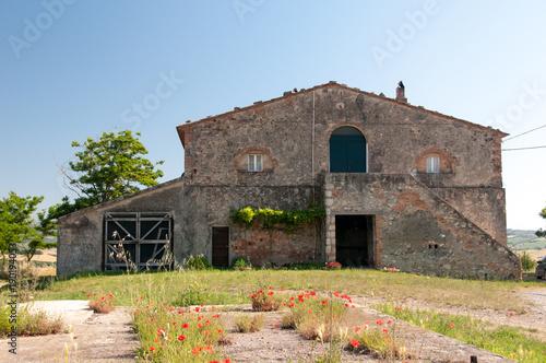 Staande foto Toscane Rustico im Val di cecina Toskana