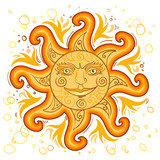 The symbol of the su...