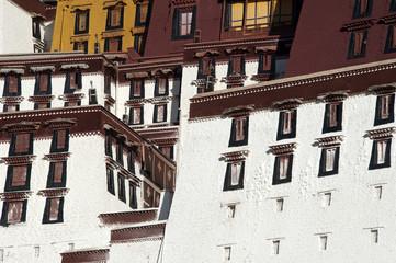 Potala palace detail, Tibet