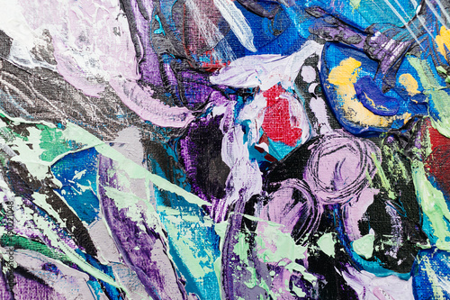 Plexiglas Graffiti painted abstract background