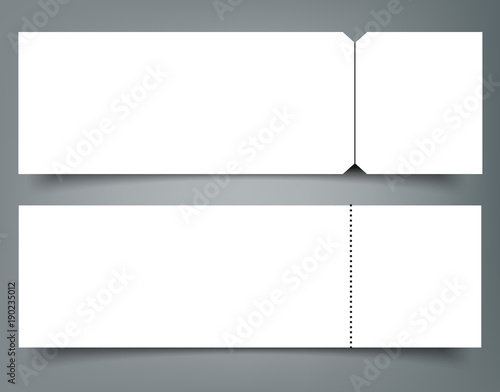 blank event concert ticket mockup template concert party or