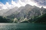 Panorama of the lake Morskie Oko in the Tatra mountains, Poland - 190237660