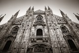 Milan Cathedral closeup - 190243628