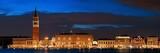 Venice skyline at night panorama