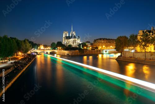 Wall mural Notre Dame de Paris