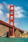 San Francisco Golden gate Bridge in summer season