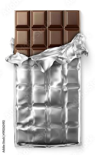 Tablette de chocolat vectorielle 3