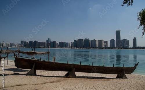 Deurstickers Abu Dhabi Contraste