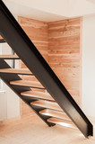 Modern metal stair design