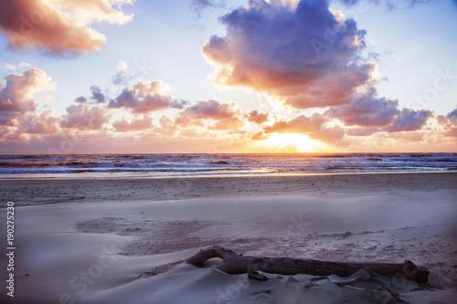 Sonnenuntergang am Meer © Britta