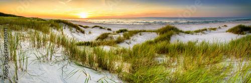 Coast dunes beach sea, panorama - 190286071
