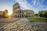 Colosseum in Rome with morning sun - 190299837