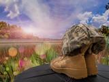 Memorial Day Boots Helmet - 190310856