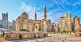 Sidi Yaqut al-Arshi mosque in Alexandria, Egypt - 190311819