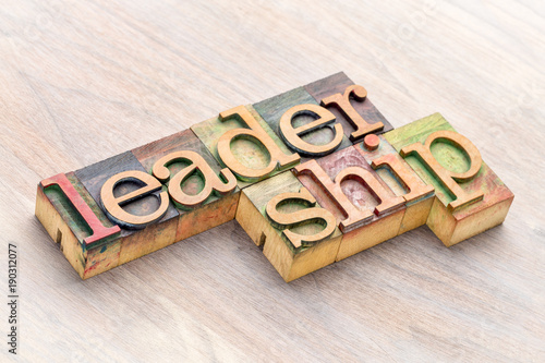 leadership-word-abstract-in-wood-type