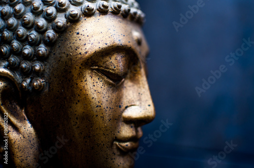 Fotobehang Boeddha FIGURA BUDA DECORACION