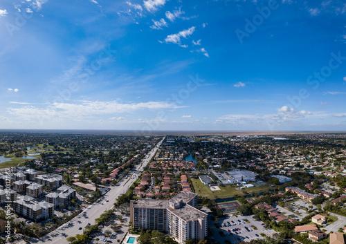 Urban Aerial Photography South Florida. © Kenneth