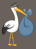 Stork Delivering Bab...