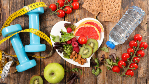 healthy eating concept - 190345434