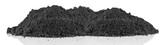 butte de terre noire, fond blanc - 190351238
