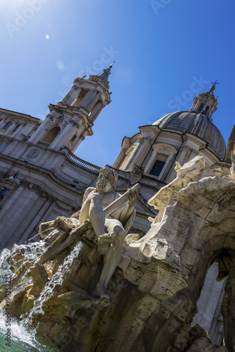Foto op Canvas Rome italy, rome, piazza navona