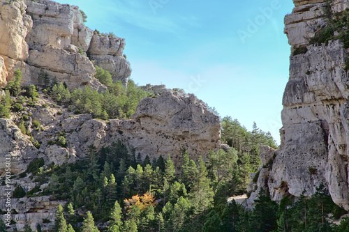 Foto op Aluminium Donkergrijs Benifassa. Natural park north of the Valencian Community