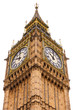 Elizabeth Tower or Big Ben Houses of Parliament Westminster Palace London UK