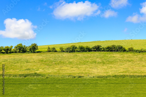 Tuinposter Blauw Sussex Landscape