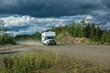 canvas print picture - Yukon Roadtrip