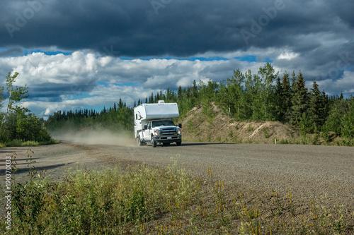canvas print picture Yukon Roadtrip