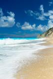 The famous Egremni beach (Lefkada,Greece) - 190375858