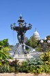 The fountain is a symbol of success and abundance./