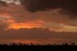 Kenyan skyline and clouds at sunset over the Maasai Mara - 190384877