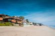 Quadro Malibu et ses maisons sur la plage